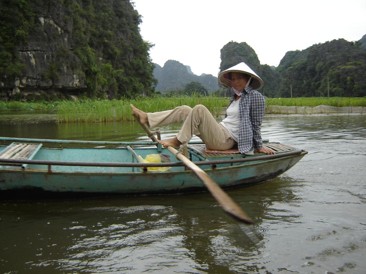 Jour 13: Ninh Binh - Tam Coc... pagayeuse1