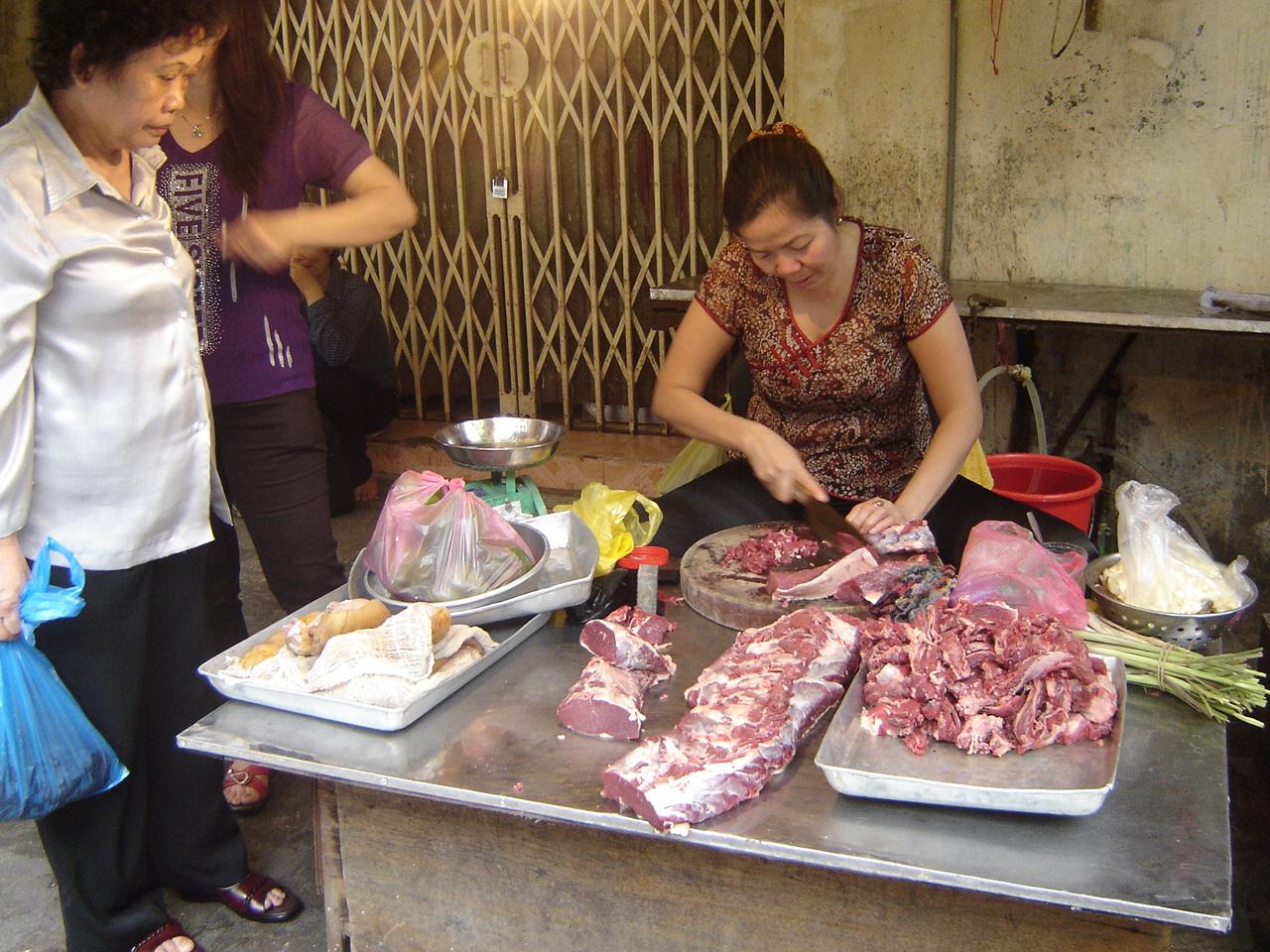 Jour 3: Hanoi... la suite! viandeaumarche