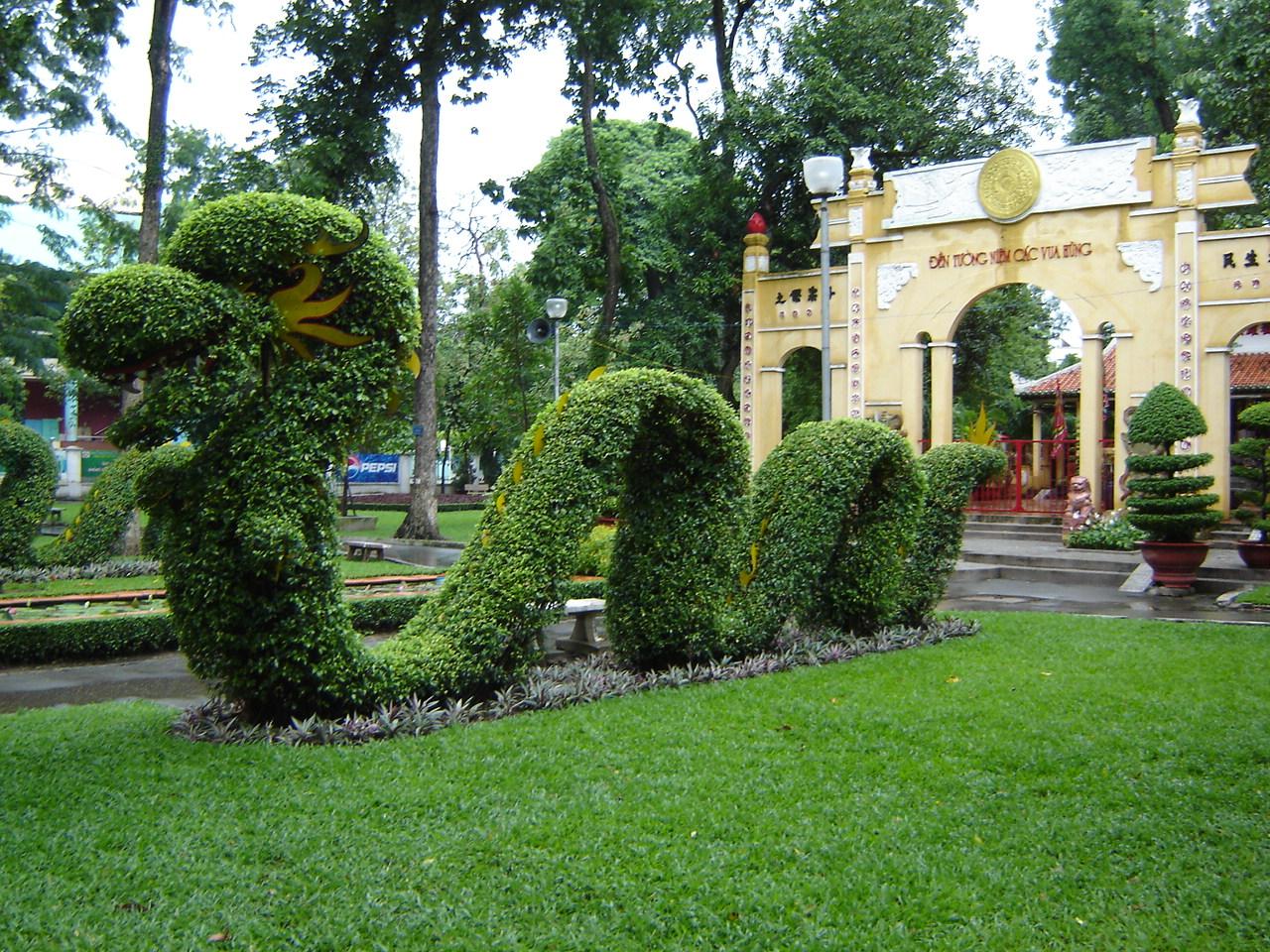 Jour 30: Ho Chi Minh Ville - Saigon... dragonparc